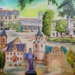 Rathäuser: Saint Peray, Santo Tirso, Dicomano, Groß-Umstadt